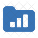 Folder Graph Chart Icon