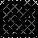 Folder Data Graph Icon