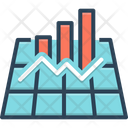 Graph Chart Infographic Icon