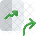 Analysis Growth Growth Graph Growth Line Graph Icon