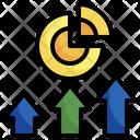 Analysis Growth Growth Market Icon