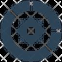 Seo Graph Gear Icon