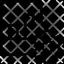 Bar Chart Paper Setting Icon