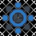 Analysis Network Icon