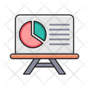 Presentation Board Report Icon