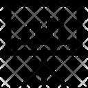 Graph Analytics Graph Board Icon