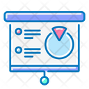 Flipchart Training Analytics Icon