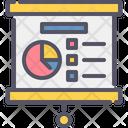 Analysis Presentation Presentation Screen Icon