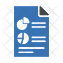 Report Sheet Banking Icon