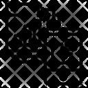 Files Mobile Graph Icon