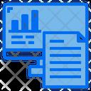 Monitor File Paper Icon