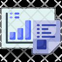 Flat Analytics Diagram Icon