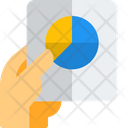 Analysis Report Pie Chart Growth Icon