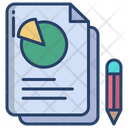 Analysis Report Business Report Document Icon