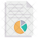 Analysis Report Analytic Report Finance Repport Icon