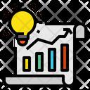 Blub Idea Graph Icon