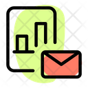 Analysis Report Mail Icon