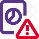 Analysis Report Warning Analysis Warning Analysis Report Icon