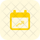 Analysis Schedule Line Chart Growth Chart Icon