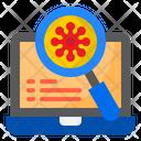 Analysis Virus Icon