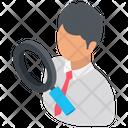 Analyst Investigator Analyzer Icon