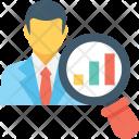 Analyst Economist Businessman Icon