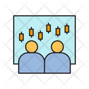 Analyst Monitoring Graphs Icon