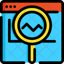 Analytic Analysis Seo Icon