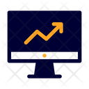 Analytic Grow Up Infographic Icon