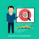 Analytic Analytics Presentation Icon