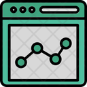 Analytic Diagram Business Analysis Finance Graph Icon