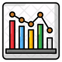 Infographic Chart Analytic Diagram Sales Report Icon