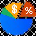 Analytic Graph Percentage Percent Icon