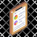 Analytics Report Analytics Statement Business Report Icon