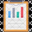 Clipboard Graph Chart Icon