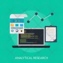 Analytical Analytics Document Icon