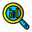 Analytical Analysis Graph Icon