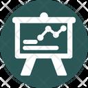 Analytical Presentation Icon