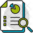 Analytical Report Document Icon