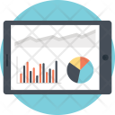 Analytical Research Mobile Icon