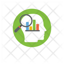 Analytical Thinking Business Mind Statistical Analyst Icon