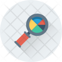 Analytics Search Graph Icon