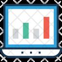 Bar Graph Seo Icon