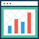 Analytics Bar Graph Icon