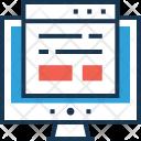 Analytics Web Content Icon