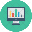 Analytics Online Graph Icon