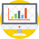 Bar Graph Analytics Icon