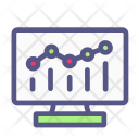 Analytic Graph Business Icon