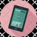 Analytics Graphs Mobile Icon