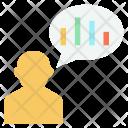 User Employee Analytics Icon